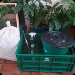 Kit de compostaje